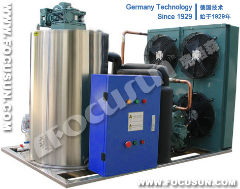 Flake Ice Making Machine Ice Mainly for Aquatic Fishery