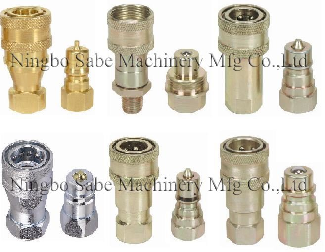 China hydraulic quick disconnect couplings double