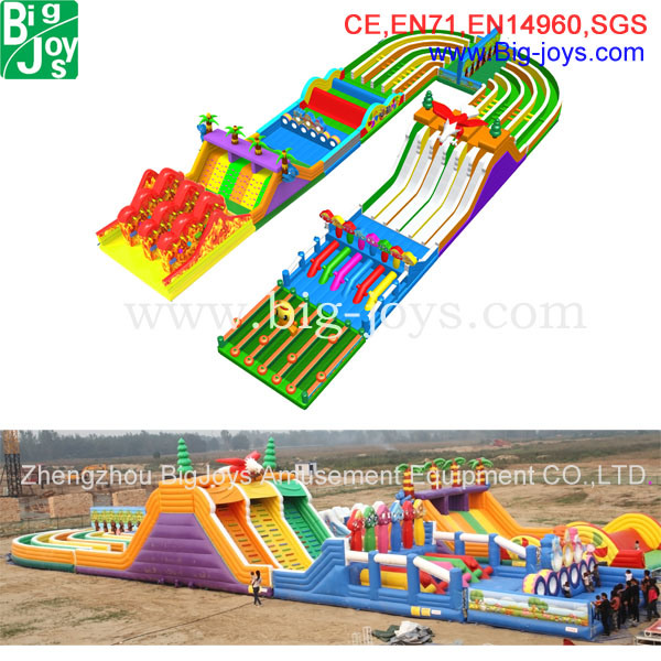 Giant Inflatable Racing Challenge Game (BJ-O26)