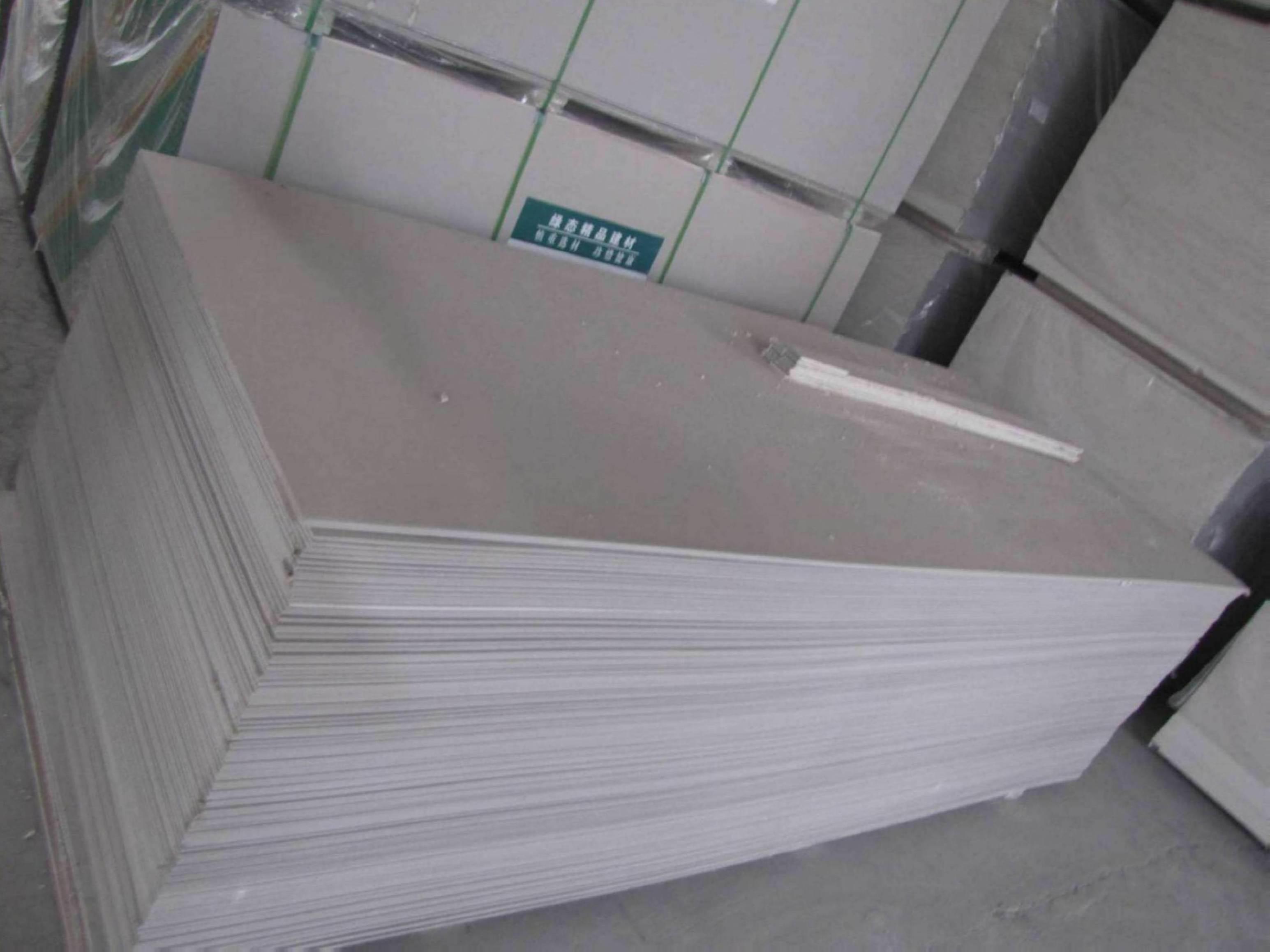 Plaster And Gypsum Board : China drywall board gypsum plaster