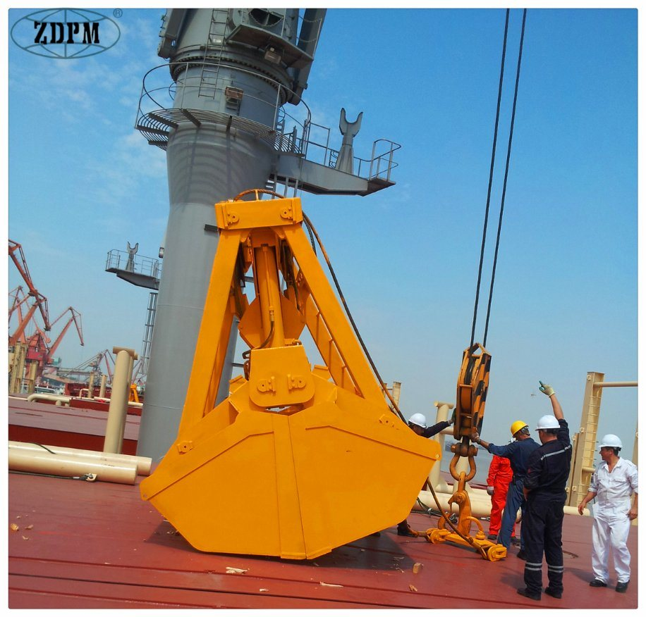 25t Remote Control Grab for Bulk Cargo Ship
