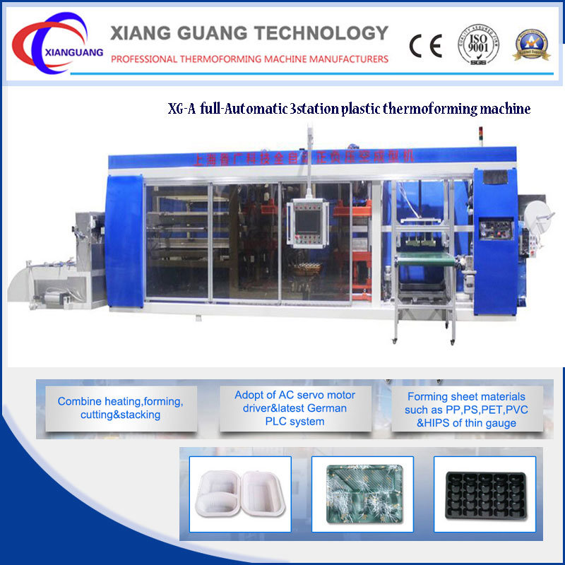 Plastic Food Package Thermoforming Machine China Manufacturers