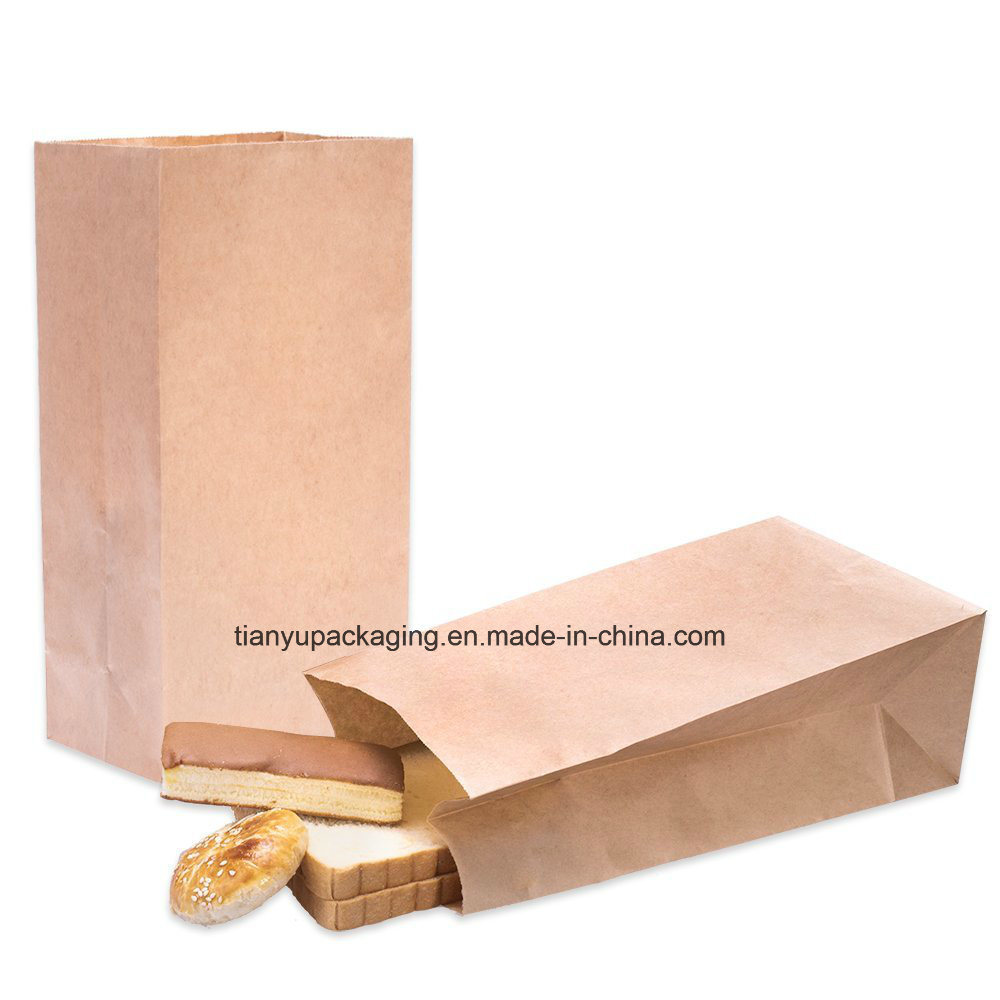 Brown Lunch Paper Bag Food Bags