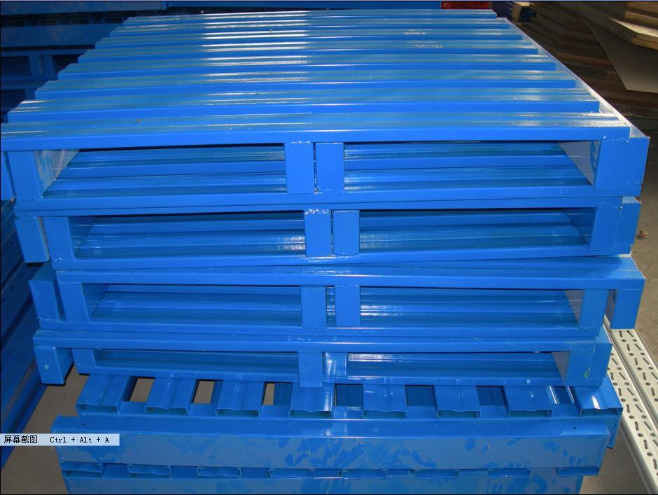 Ss400/Q235 Warehouse Storage Steel Pallet