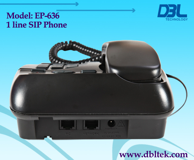1 Channels VoIP Phone, IP Phone With SIP&H. 323 (EP-636)