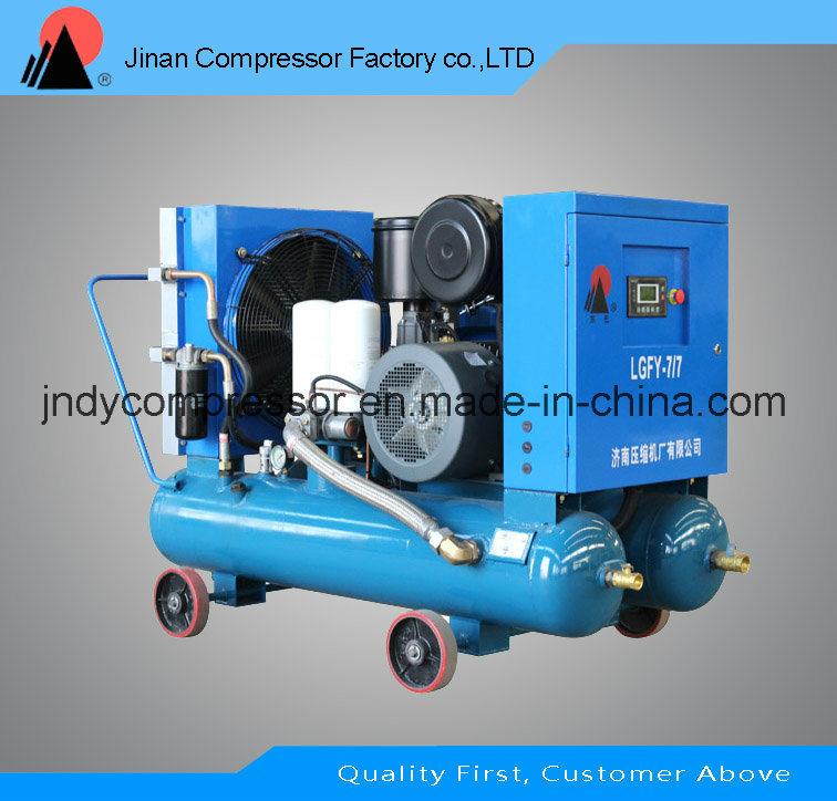 Portable Mobile Screw Air Compressor