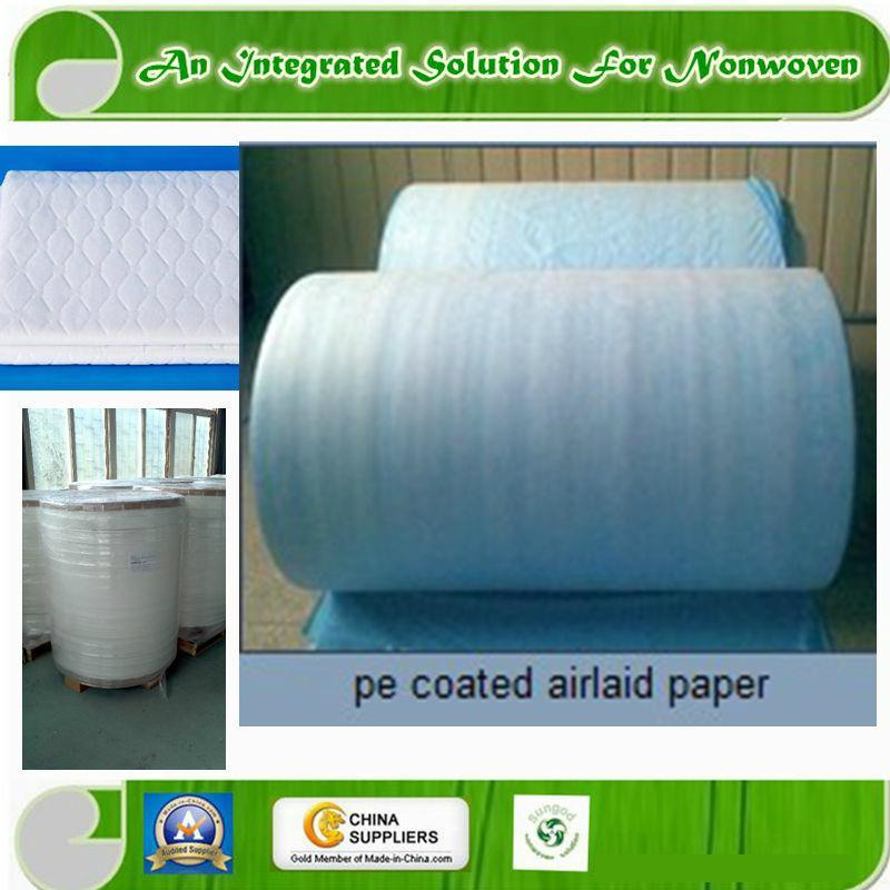 PE Film Coated or Laminated Airlaid Paper or Tissue