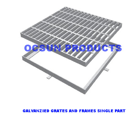 Galvanzied Grates and Frames Light Duty