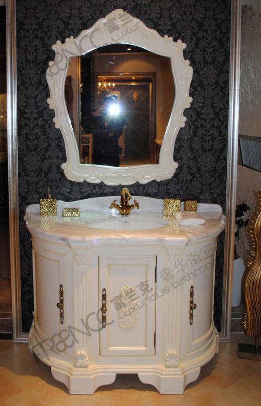 Meubles antiques chinois de salle de bains en bois plein for Meuble antique chinois