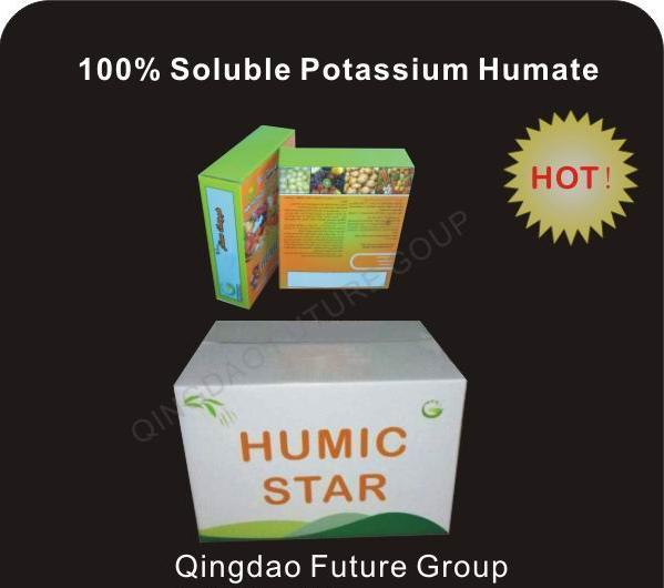 Fertilizer Humic Acid Potassium, Potassium Humate