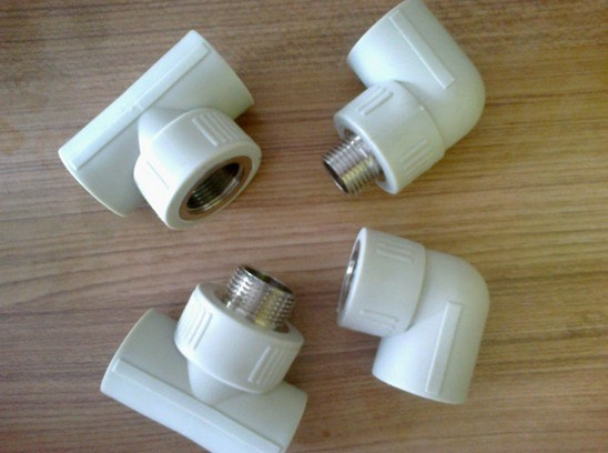 Plumbing Materials White Color PPR Pipes Fittings