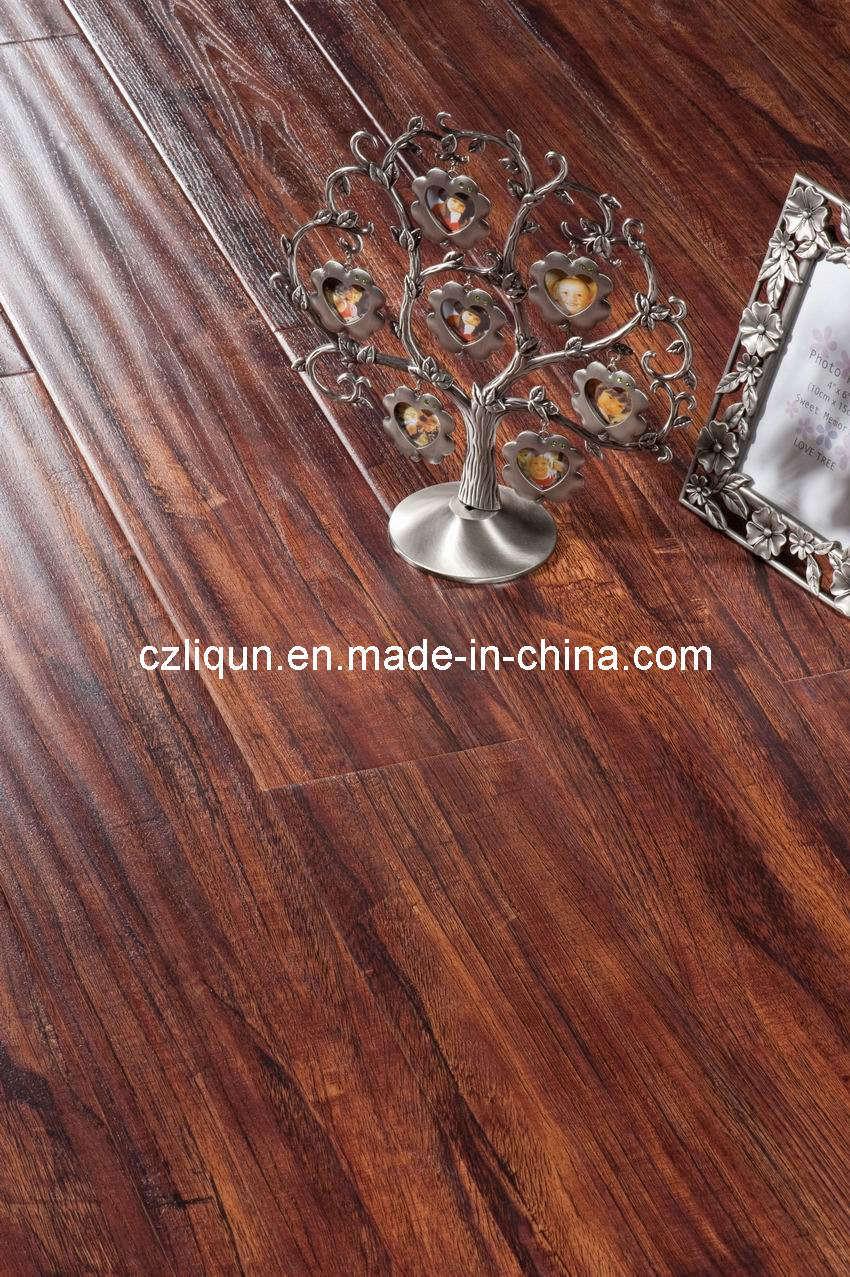 wavy surface wood laminated flooring sd b305 On wavy laminate flooring