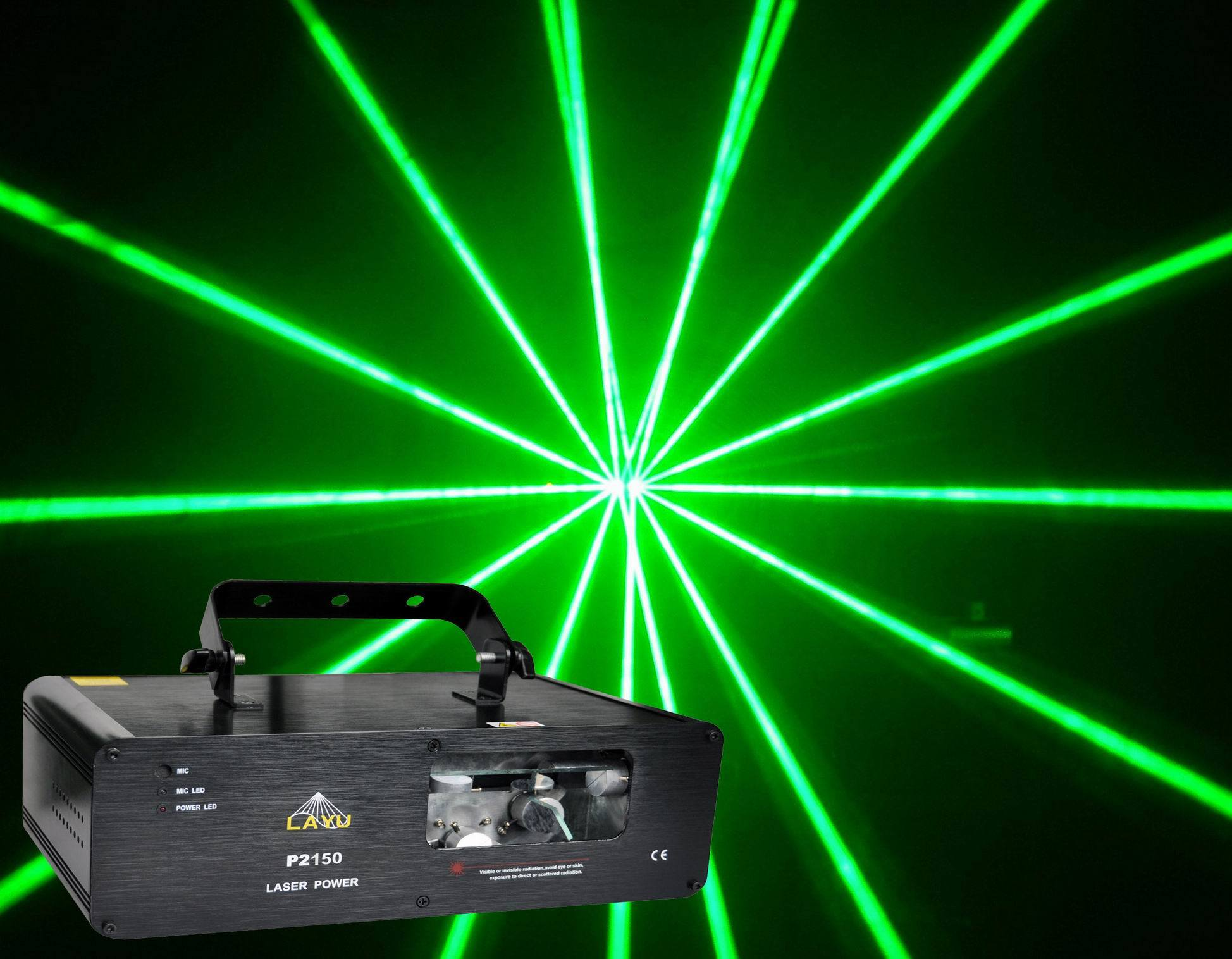 China 300MW Green Laser Light for Laser Show P2150