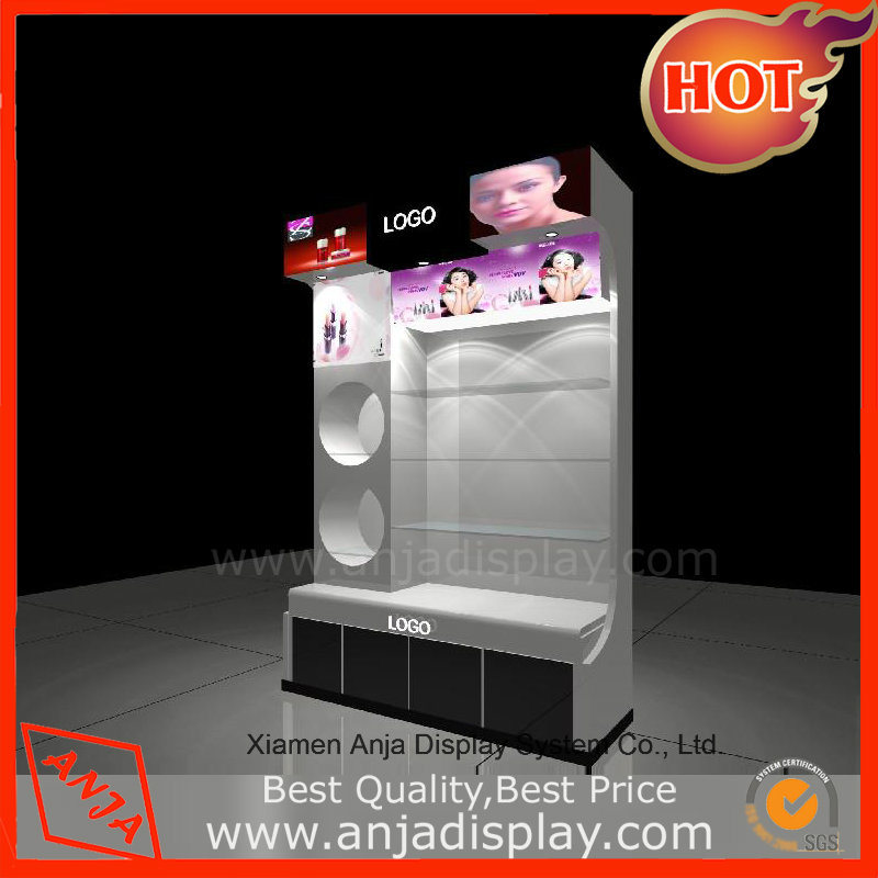 Wooden Cosmetic Display Case