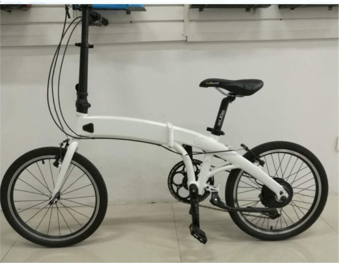 """Electric Folding Bike Bicycle with 20"""" Wheels"""
