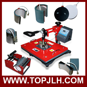 Best Selling Sublimation Printing 8 in 1 Heat Press Machine From China