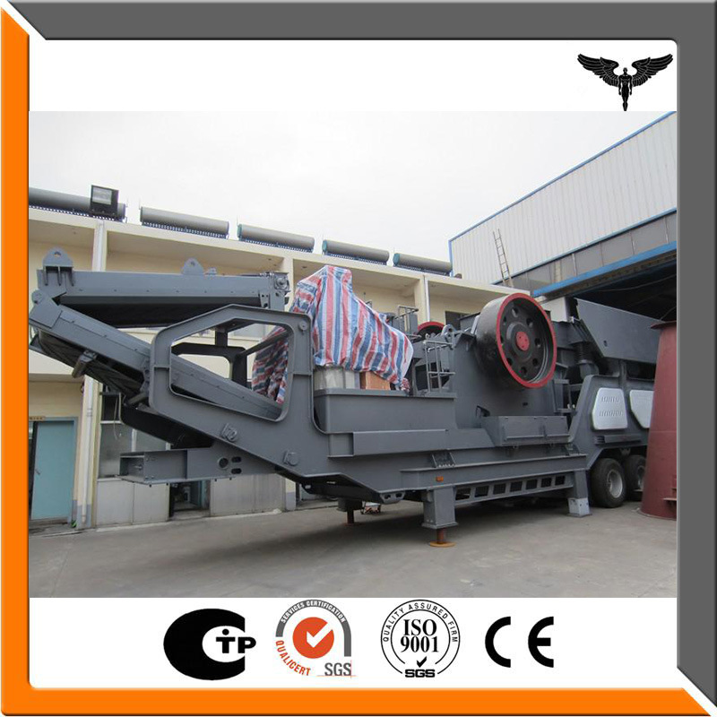 Mobile Jaw Crusher Plant/Portable Rock Crushing Plant
