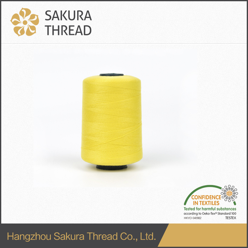 60/2 5000m Polyester Sewing Thread with Oeko-Tex China Factory