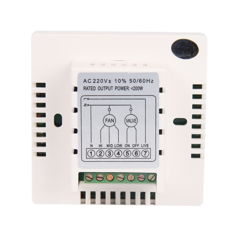 Programmable Digital Room Temperature Controller for Central Air-Condition 8c