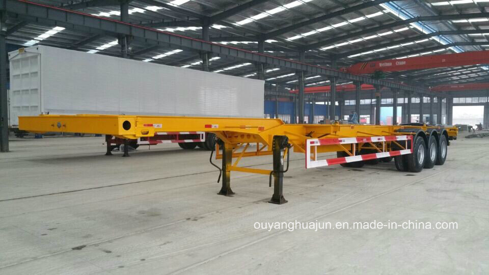 48 Feet 14.95 Meters Skeleton Container Semitrailer