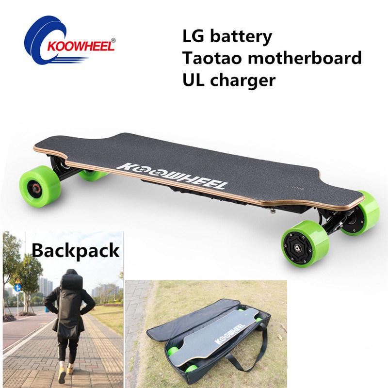 D3m Longboard Koowheel Electric Skateboard with Remote Control