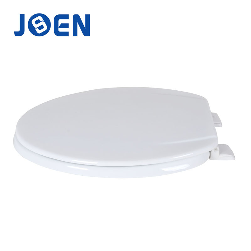 White Mould Wood MDF Toilet Seat