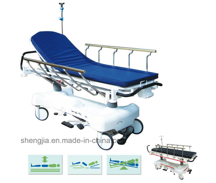 Sjm006-a Luxurious Hydraulic Rise-and-Fall Stretcher Cart