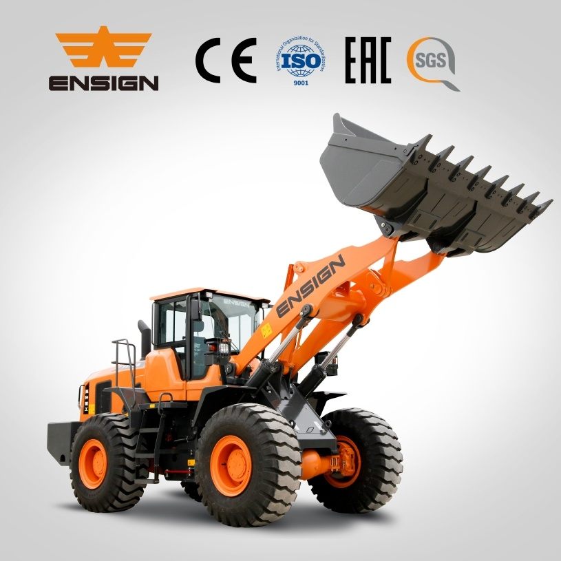 Earthmoving Equipment Ensign 5 Ton Wheel Loader Yx656