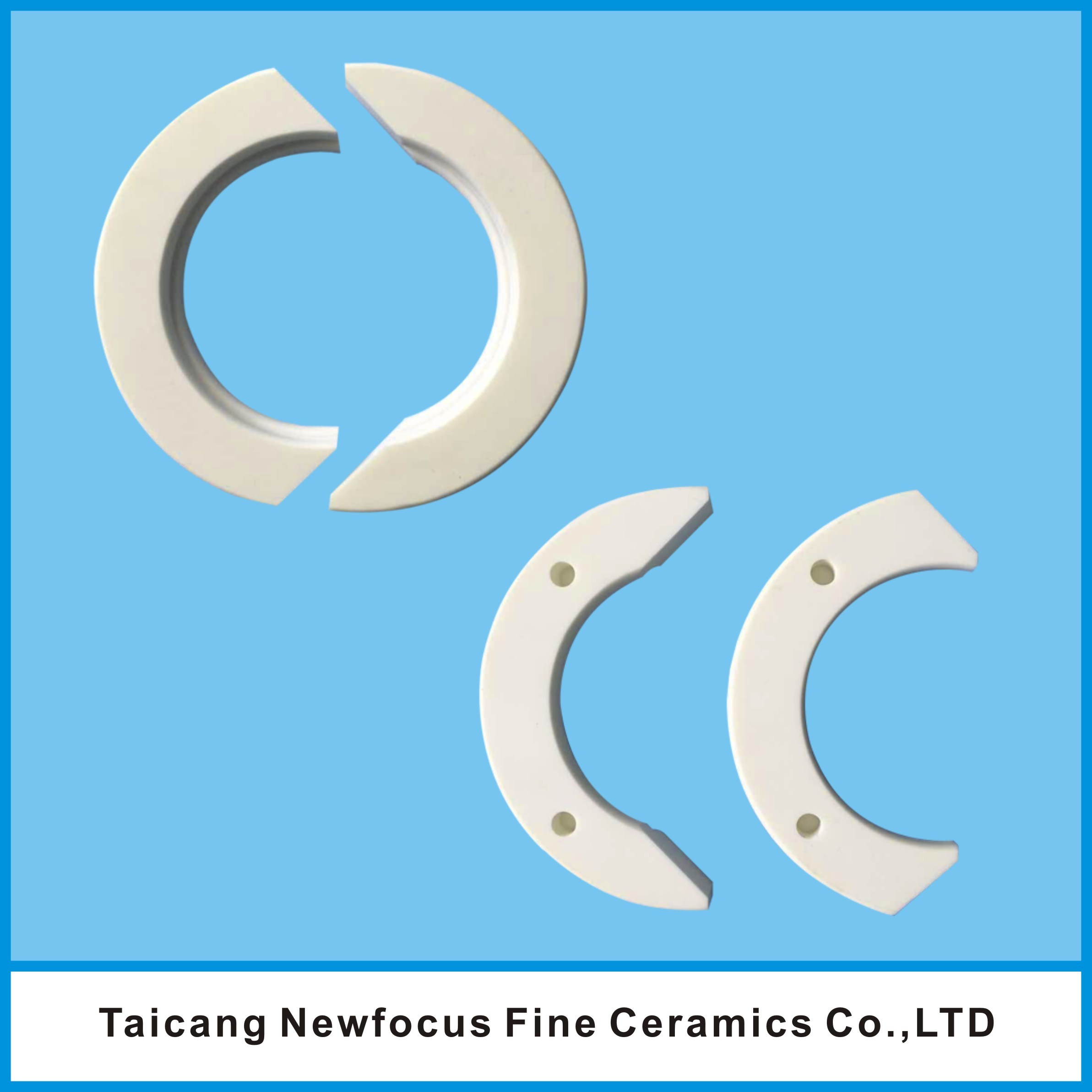 Alumina Insulation Ring