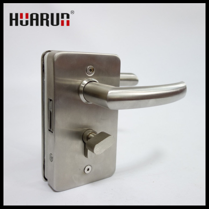 Stainless Steel Swing Glass Door Handle Lock (HR1130/HR1131)