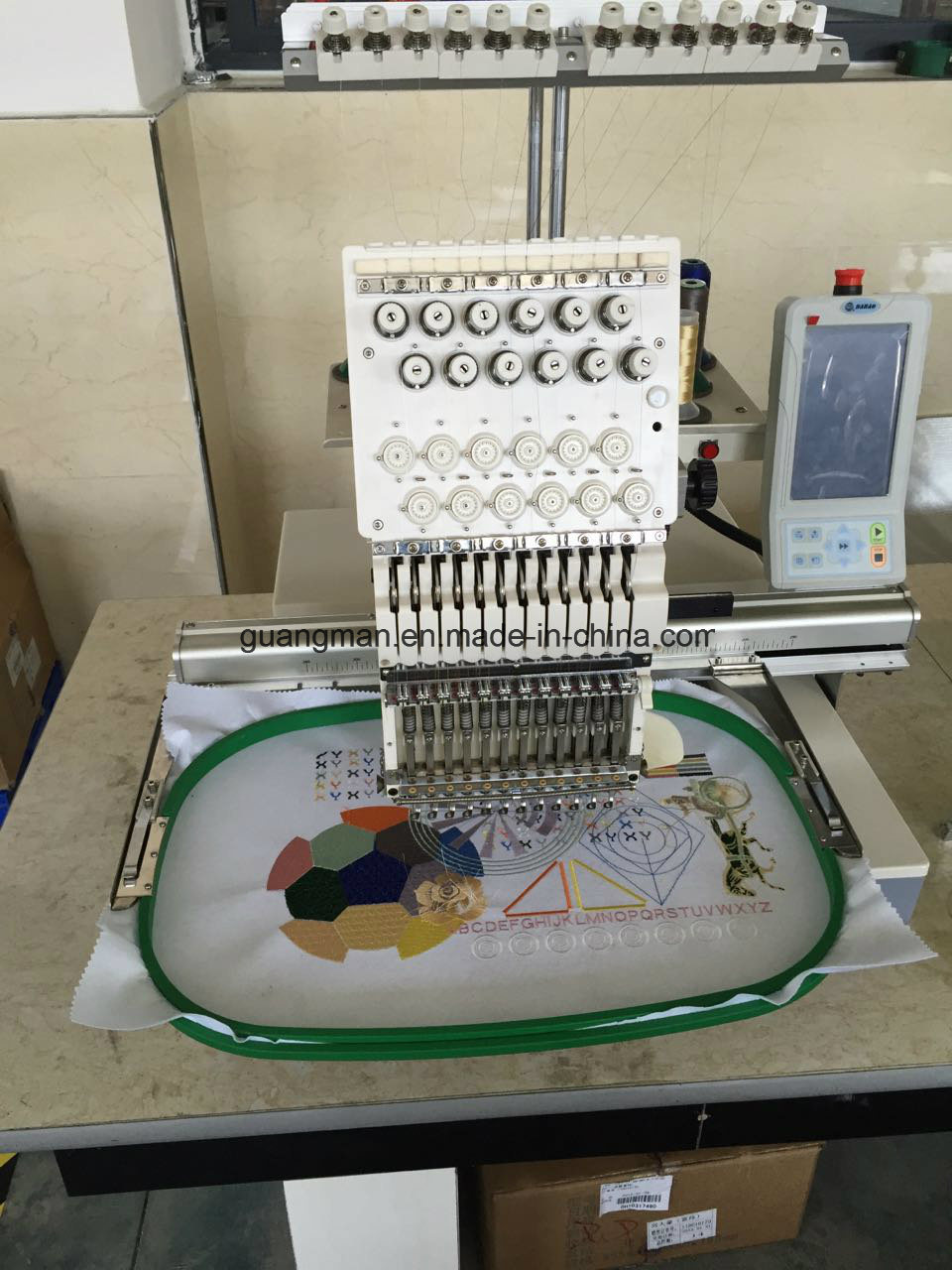 Hye-T1501/400*400 Cap T-Shirts Embroidery Machine