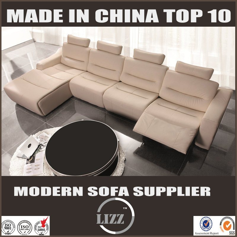 2017 New Recling Furniture with Genuine Leather