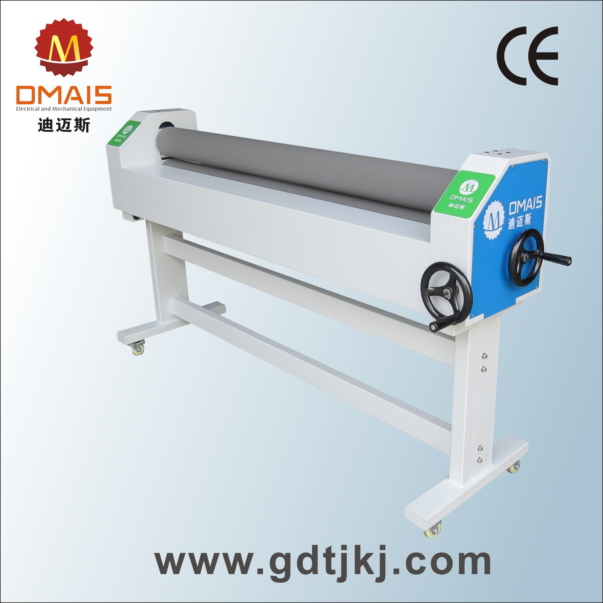 1.6m/63′′ Manual Roll to Roll Laminator for Woodern Material