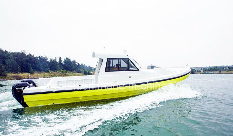 30′ FRP Japanese Fishing Boat Hangtong Factory-Direct