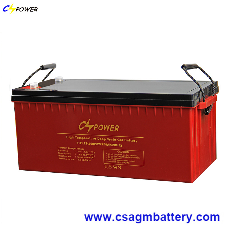 12V100ah High Temperature Deep Cycle Solar Gel Battery for Middle East and Africa