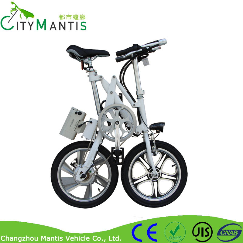 Alloy Frame City Folding Bicycle with 16′′ Kenda Tyres