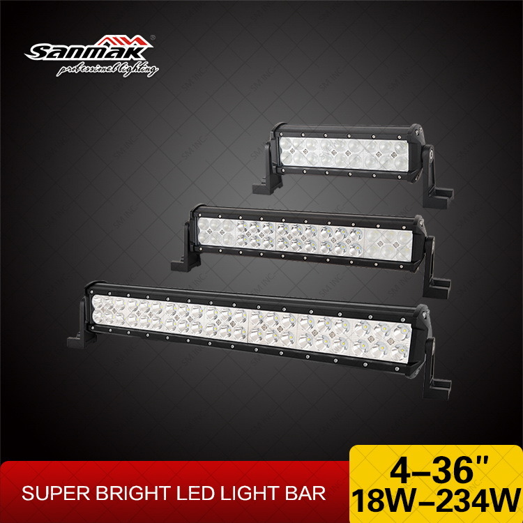 "22"" 126W High Output 4X4 Offroad CREE LED Light Bar"