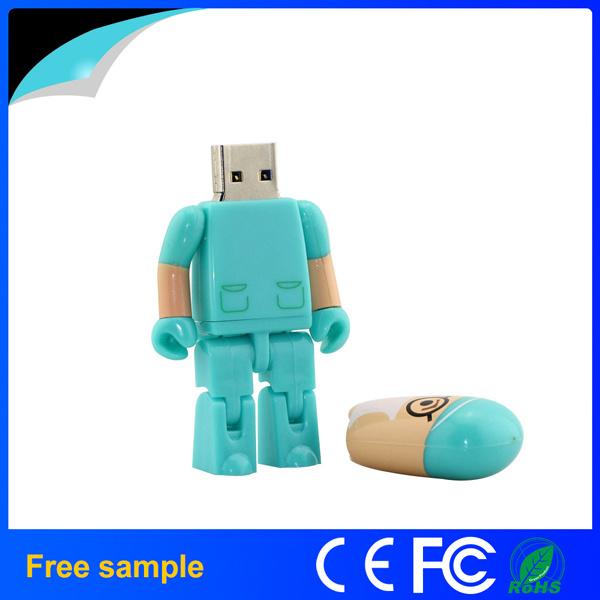 2016 China Supplier 4GB 8GB Plastic Doctor Shape USB Pendrive