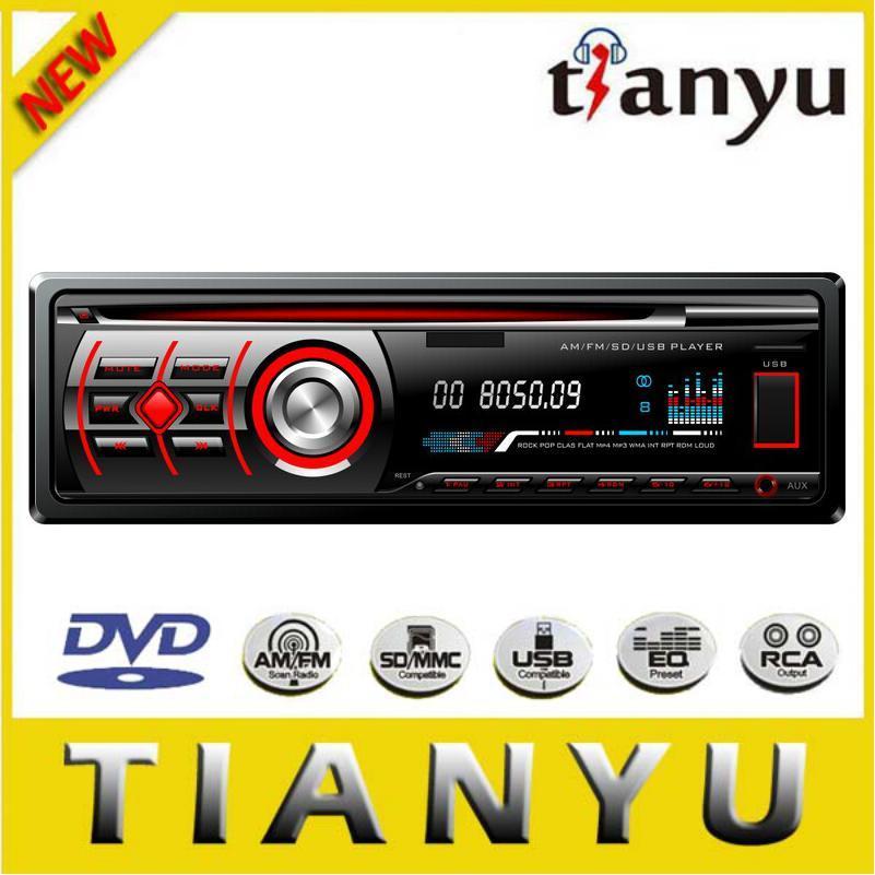 Single DIN Fixed Panel Car Video 526