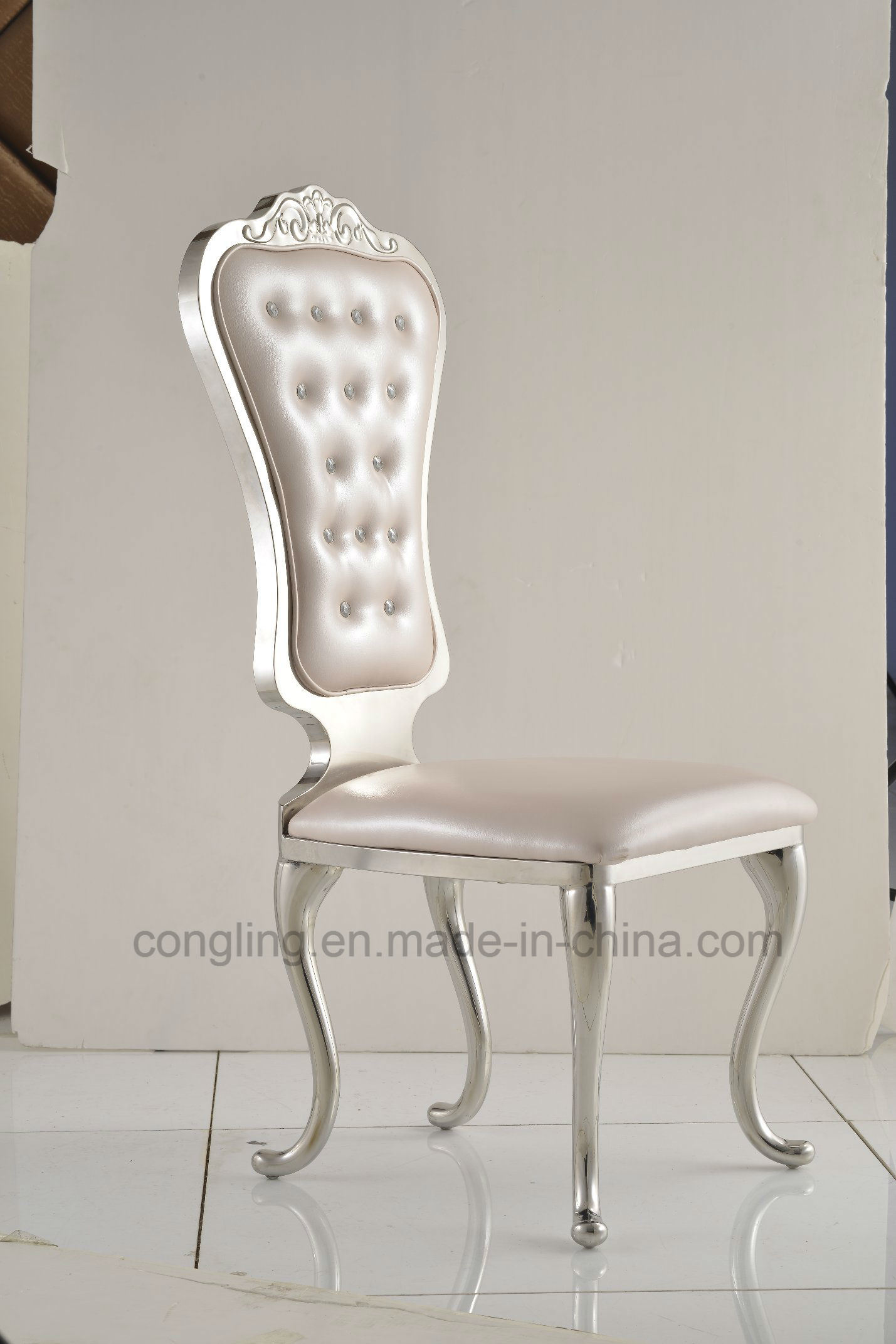 Cheapest Wedding Chair Dining Stainless Steel Legs Furniture