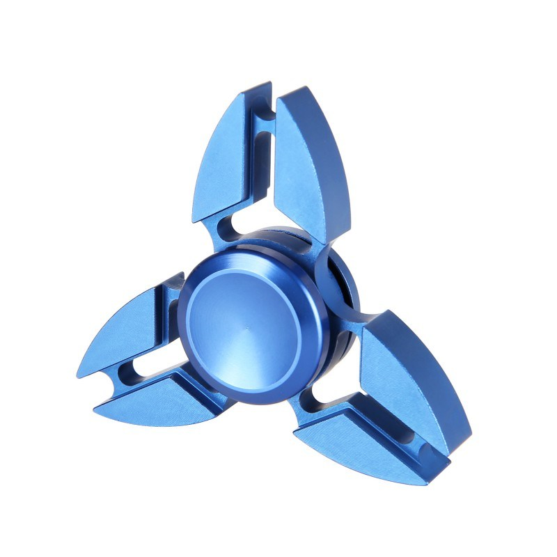 Fashion Hand Finger Toy Crab Tri-Spinner Aluminum Alloy Anti Anxiety Fidget Spinner