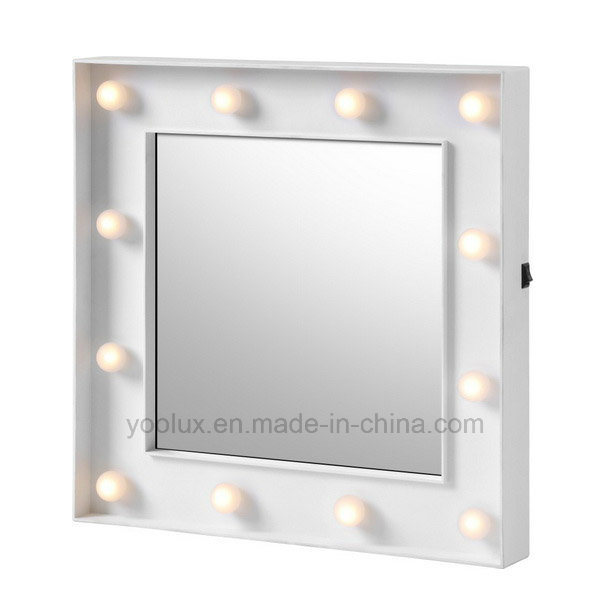 Battery Operated Home Decoration Gift LED Decorative Mirrors