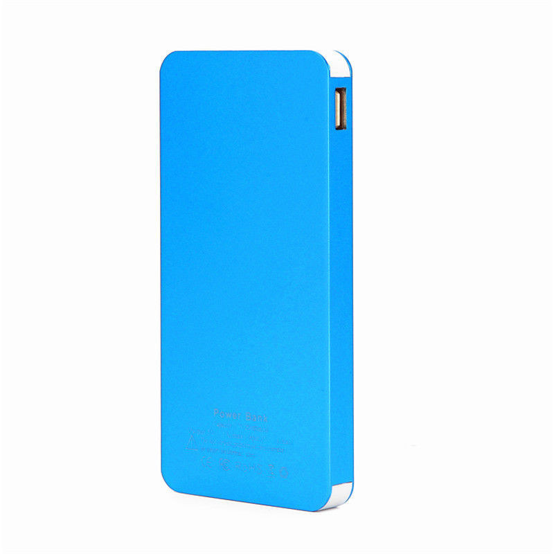 6000mAh Super Slim Power Bank Mobile Power Charger with 2 USB Ports