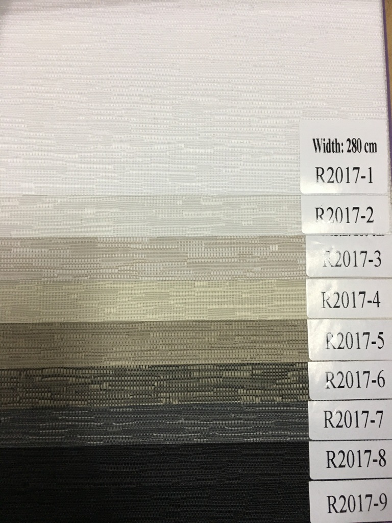 New Arrival Dim-out Roller Blind Fabric R2017 Series