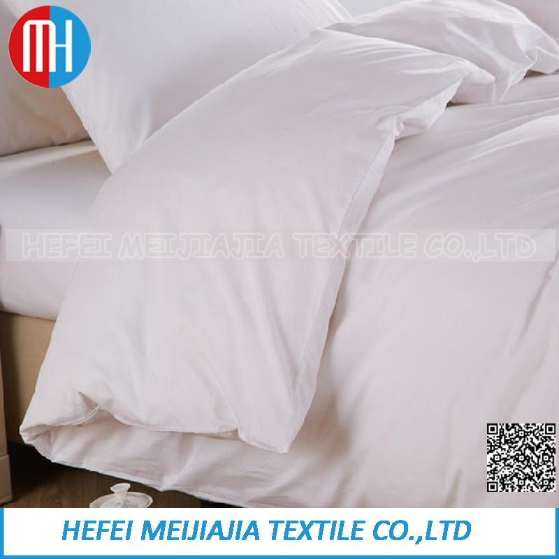 100% Cotton White Bedding Set Home Textile