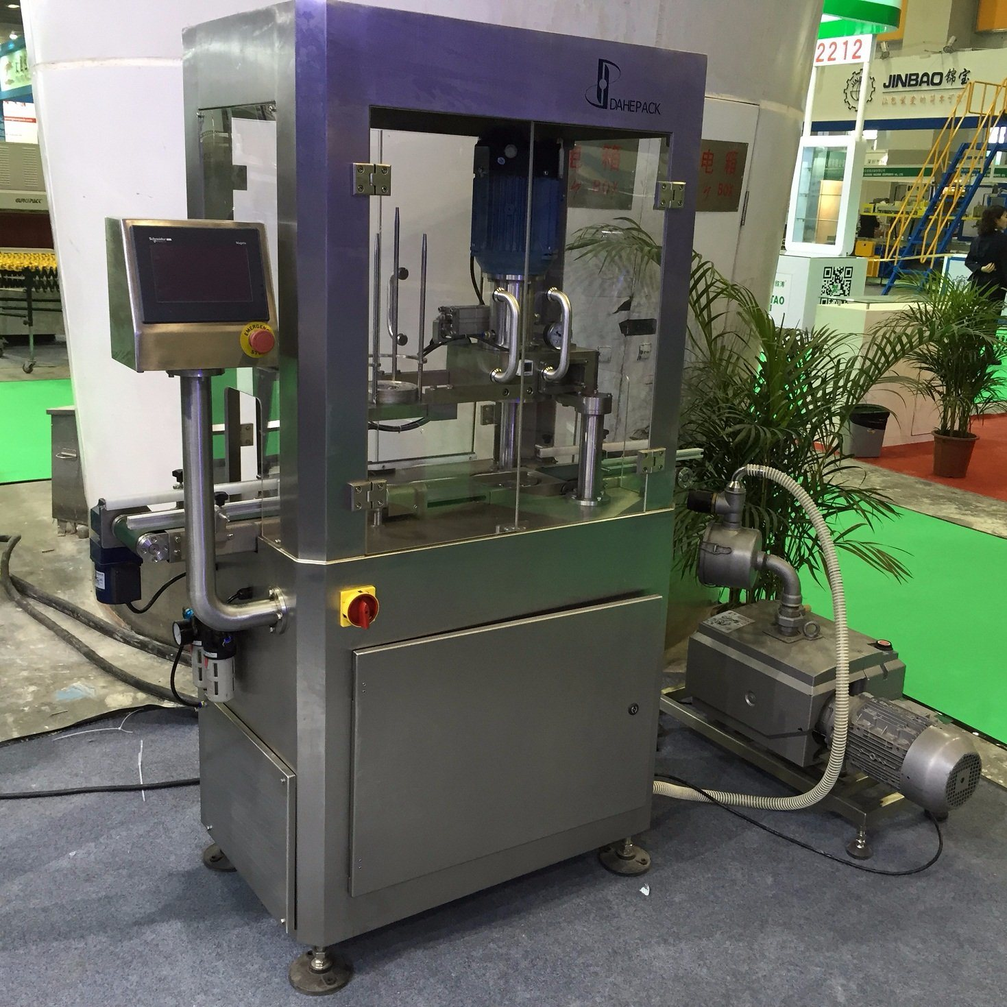 Automatic Vacuum Tin Cans Seaming Machine