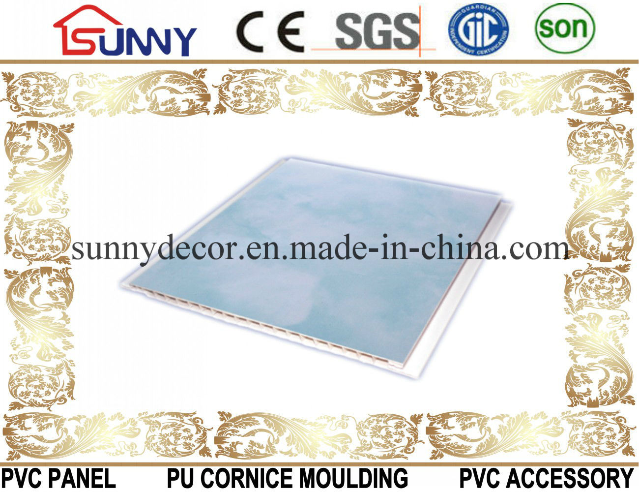 2016 South Africa Printing PVC Ceiling Panel/PVC Wall Panel/PVC Board