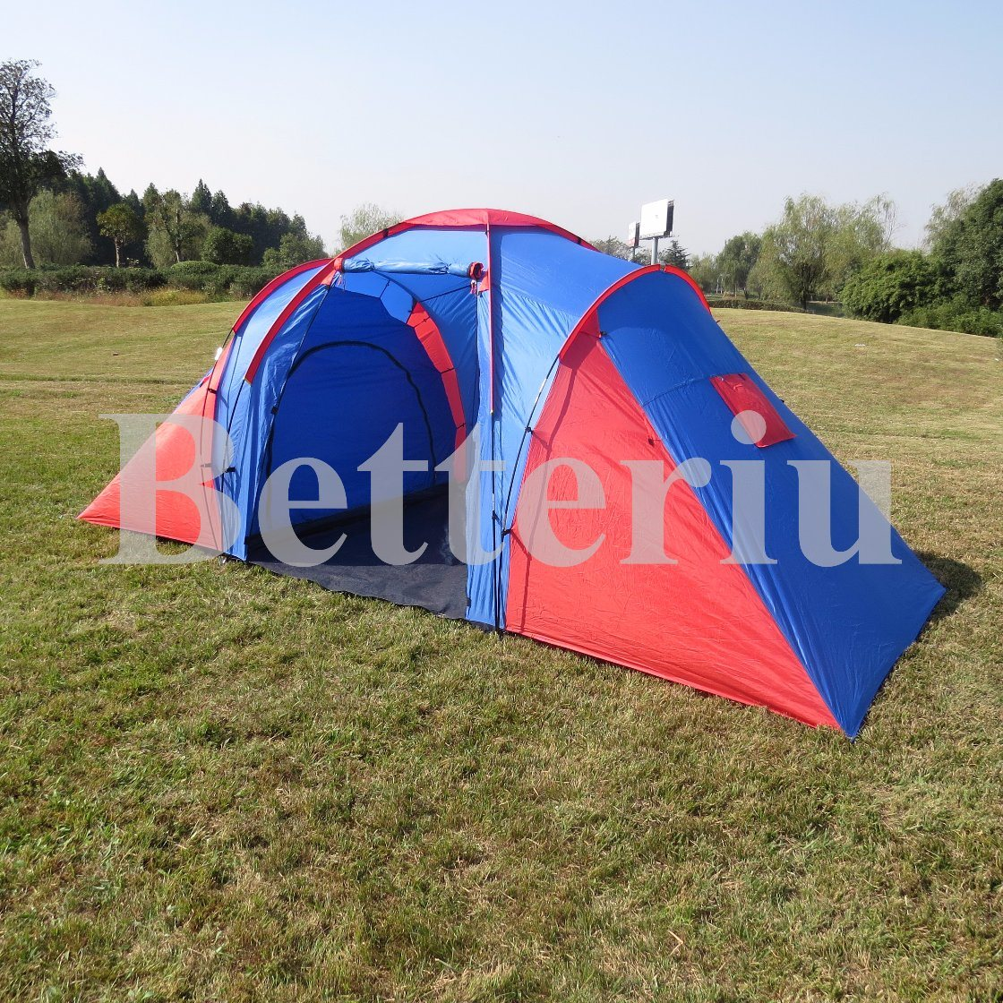 Fashion Design Camping Tent China Supply Three Room Tent