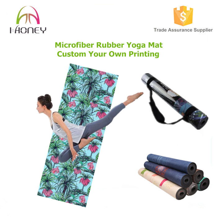 2-in-1 Towel and Mat with Non-Slip Grip. Also Perfect for Ashtanga and Pilates.