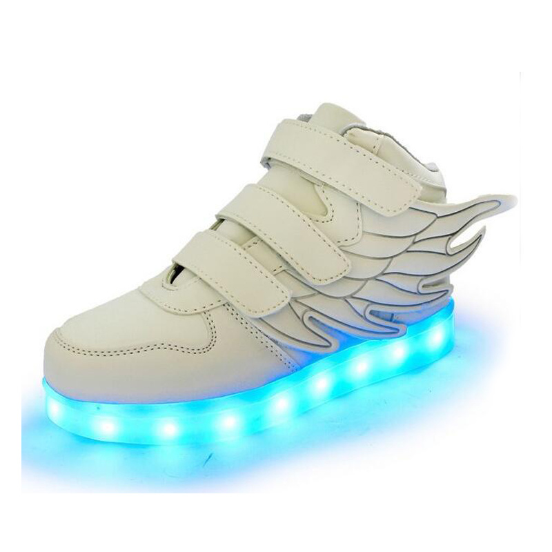 High Top Light up Sneakers Glowing Shoes for Sale